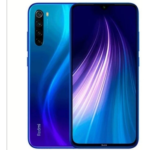 xiaomi redmi note 8 32gb/64gb+ vidrio