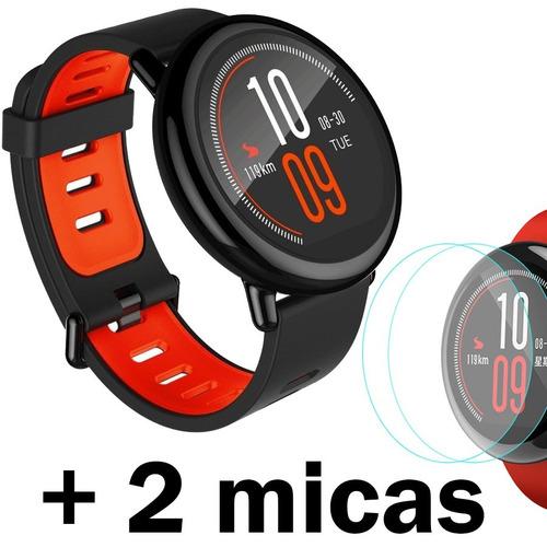 xiaomi smartwatch amazfit pace internacional + 2 micas prote