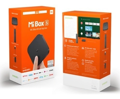 xiaomi tv box s 4k hdr android 8.1 global