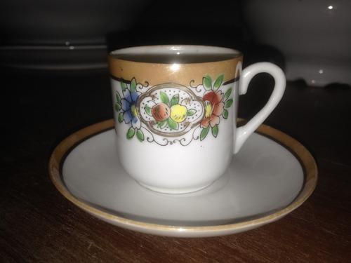 xícara chá café porcelana antiga