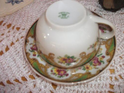 xicara   de   chá  porcelana   real