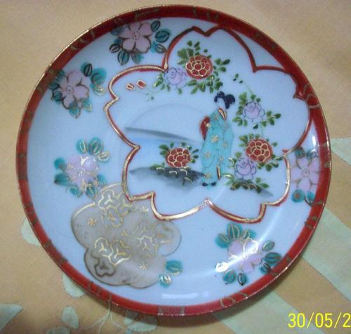 xicara decoração antiga