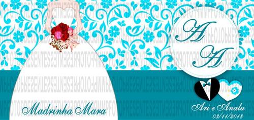 xicara personalizada lembrancinha padrinho madrinha