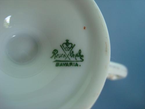 xícara porcelana antiga