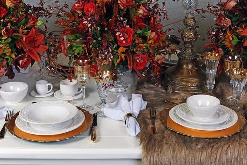 xícaras de chá porto brasil madeleine branco 6 unidades