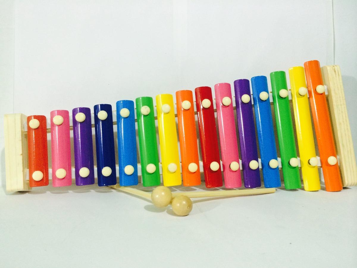 Xil fono infantil 15 notas instrumento musical mas Notas de espectaculos mas recientes
