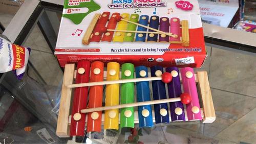 xilofono infantil 8 notas ideal para la escuela marimba