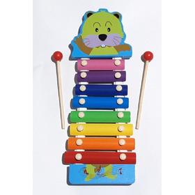 Xilófono Infantil Marimba 8 Tonos Musicales