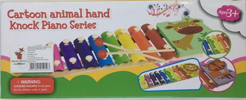 xilofono marimba niños didactico estimulacion piano juguete