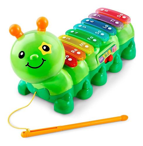 xilófono musical oruga de arrastre primera infancia v-tech