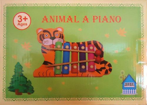 xilófono niños niñas musical piano de madera juguetes regalo