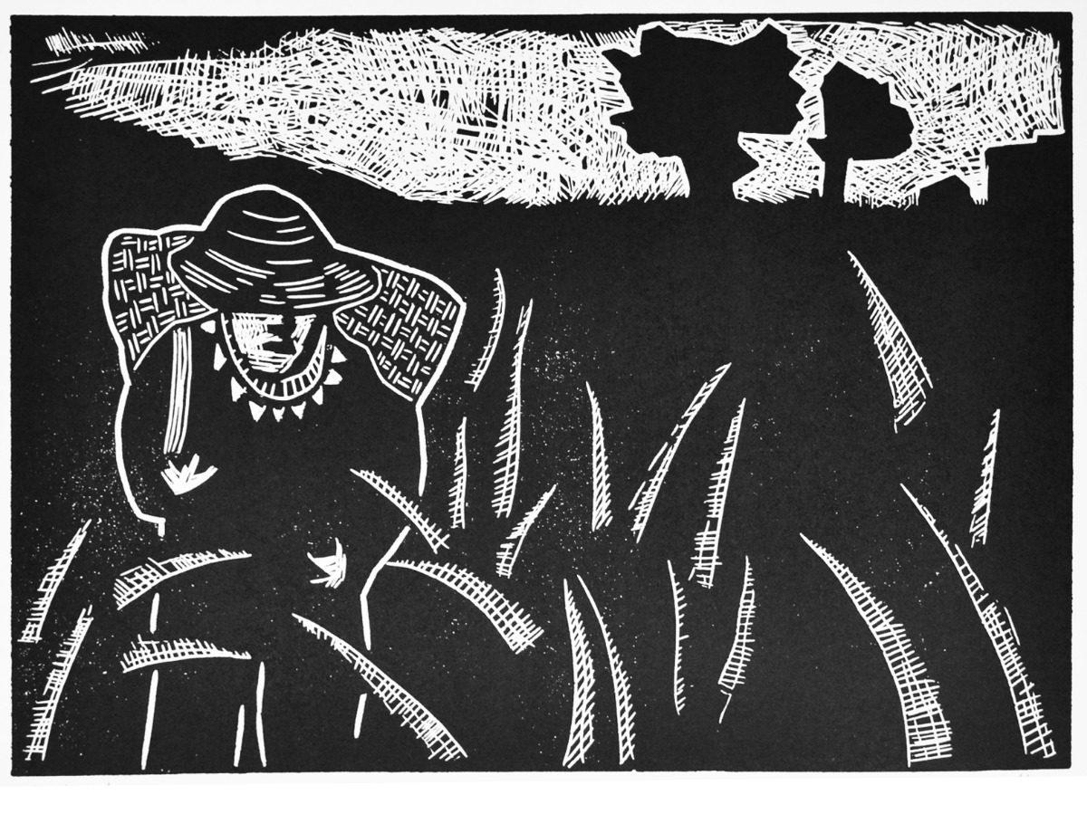 Xilografia -grabados Enmarcados Y Con Vidrio Cuadros - $ 35.000 en ...