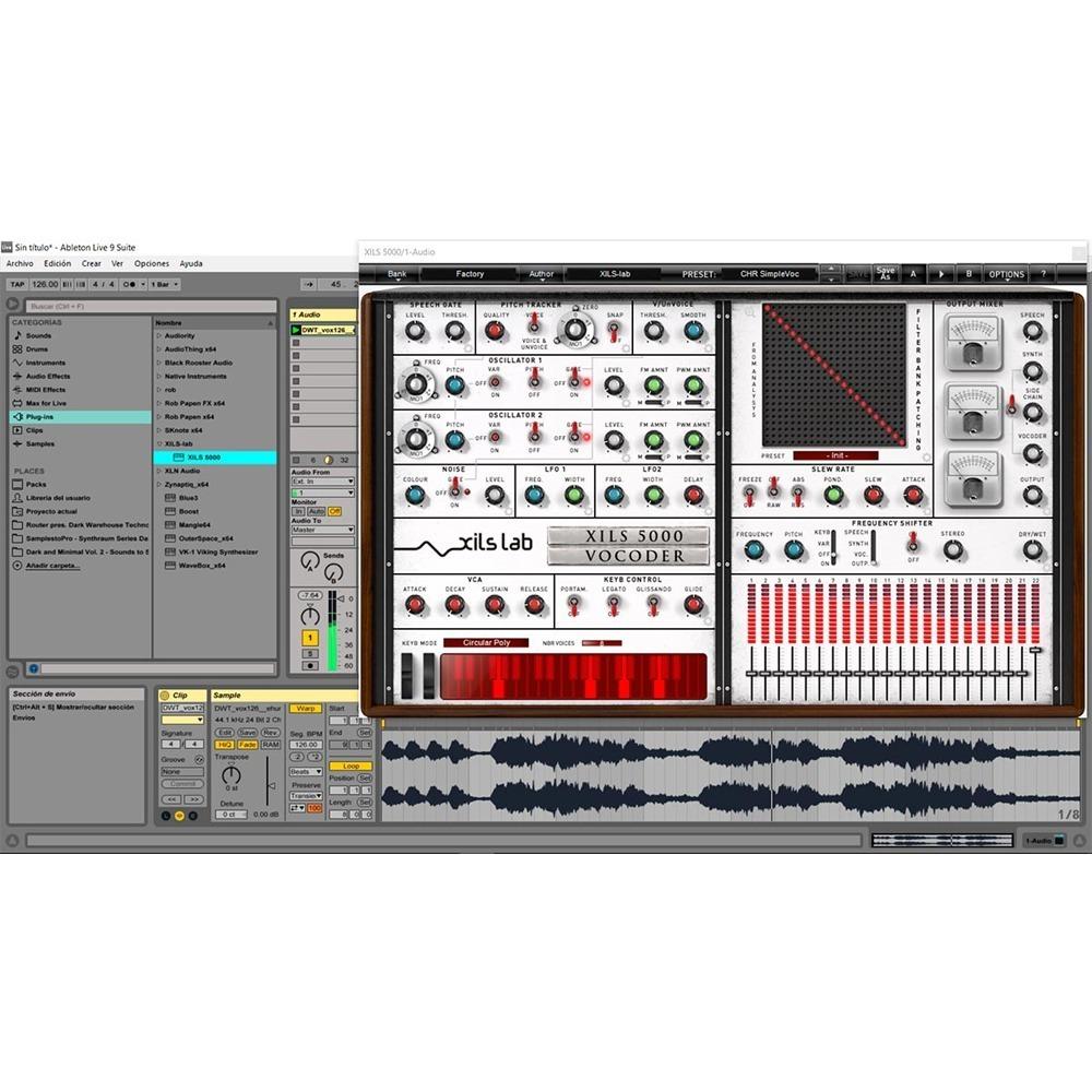 Xils Vocoder 5000 - Xils-lab Vocoder Plug-in Online