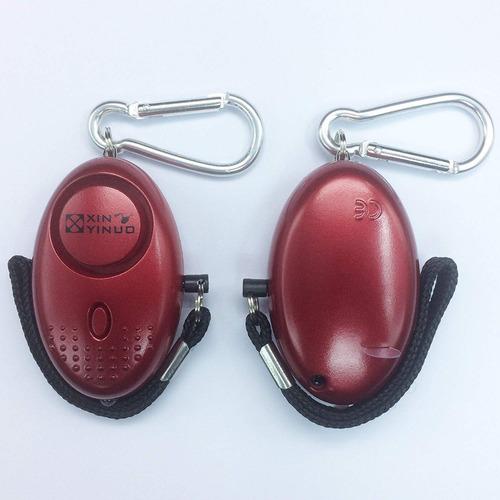 xinyinuo 3 paquete rojo mini ruidoso personal personal páni