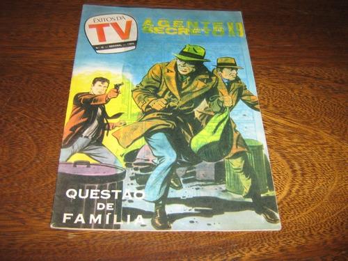 êxitos da tv nº 12 de maio /1979 com agente secreto x-9