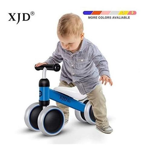 xjd baby balance bike bicycle toys para 1 año de edad toddle