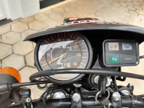 xl 125 original placa preta 6.000km