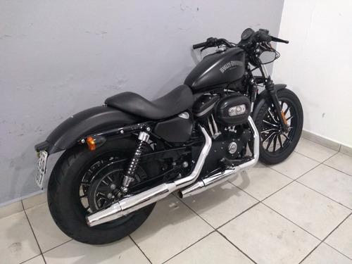 xl 883 n iron 2012 preta impecável