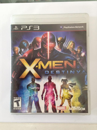 xmen destiny playstation 3 ps3