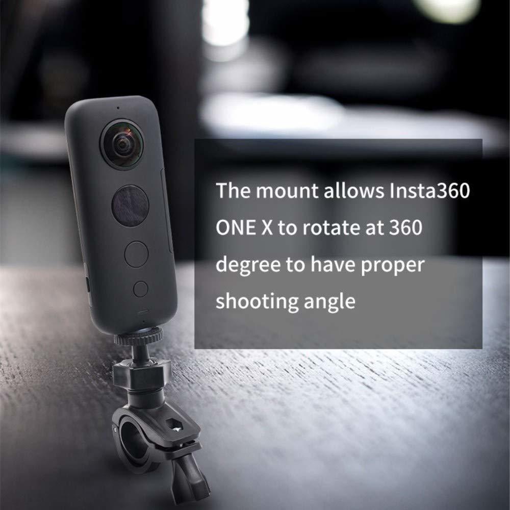 360 ° de rotación de la bicicleta Mount Soporte Soporte Para Insta 360 One X//EVO Acción Cámara