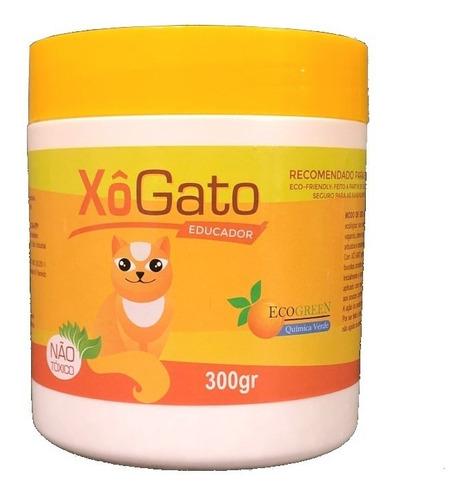 xo gato educador 300 gr granulado repelente afasta espanta
