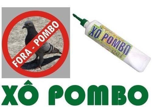 xo pombo pássaros gel 250g repelente pombos/morcegos/pardal