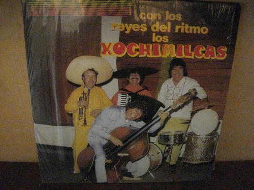 xochimilcas lp 16 exitos con los reyes del ritmo,vinil