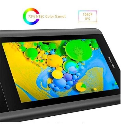 xp pen artist12 tableta para dibujo digital fullhd 11,6plg