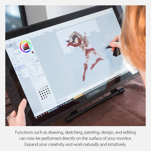 xp-pen artist22e 22-inch display monitor ips monitor gráfic