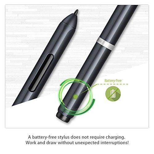 xp-pen star05 wireless 2.4g tableta gráfica de