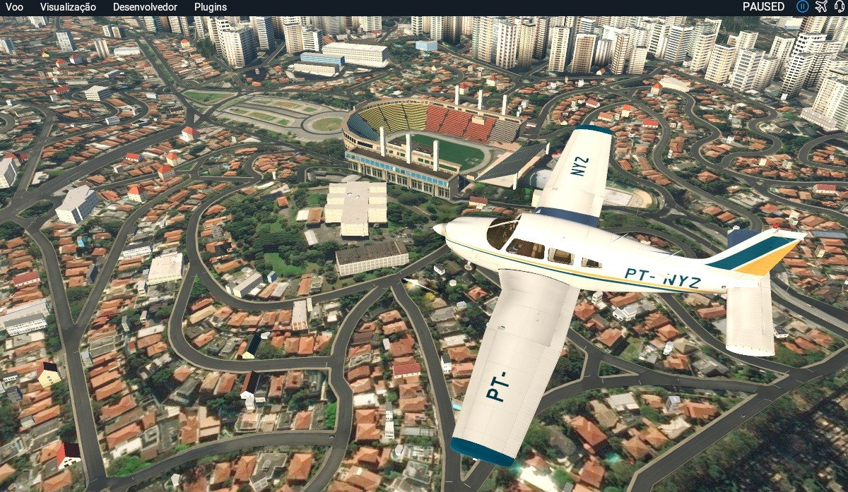 [xp11] Aeronaves Para Xplane 11: Embraer Tupi Aeroclube Sp