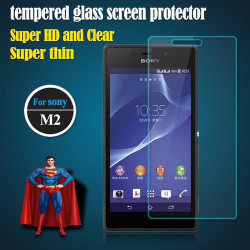 xperia m2 d2306 protector cristal vidrio templado oferta