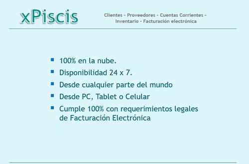 xpiscis - aplicación de gestión y administración