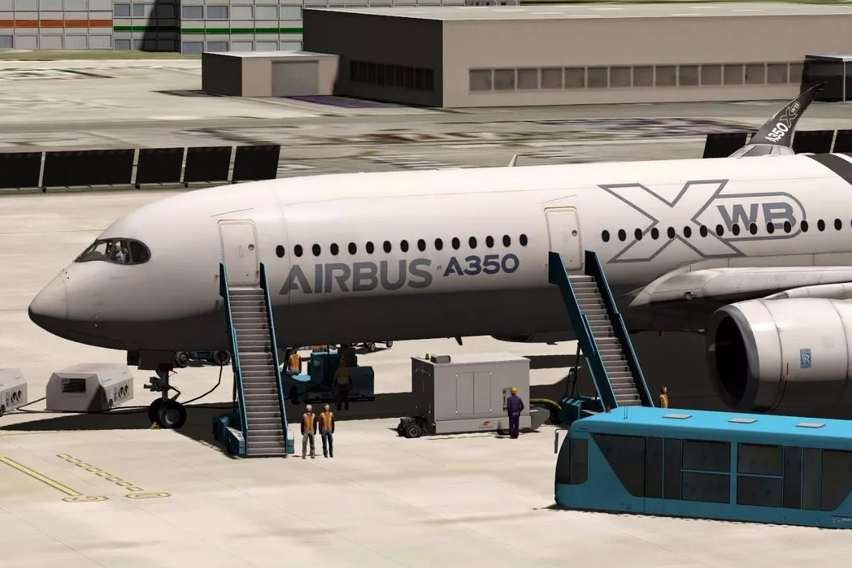 [xpl10/11] Flightfactor Airbus A350 Xwb Advanced Para Xplane