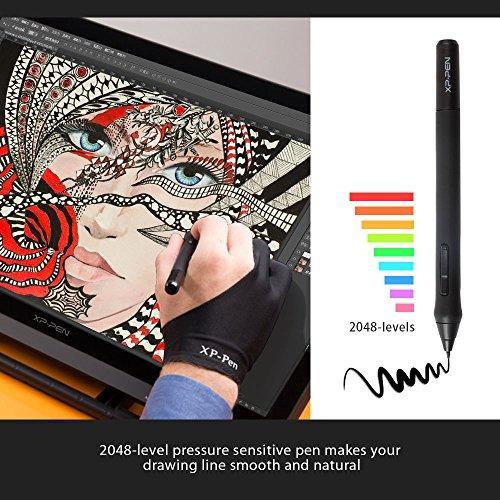 xppen artist22 monitor 22 pulgadas con pantalla gráfica moni