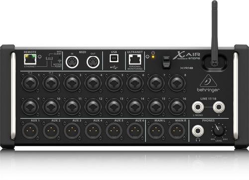 xr18 consola digital behringer en stock!