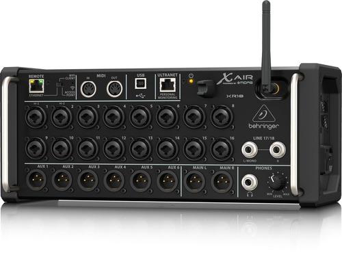 xr18 consola digital behringer en stock, nueva y garantia!