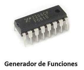 Xr2206 Generador De Funciones Hasta 1 Mhz