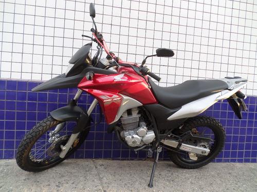 xre 300 2015 vermelha