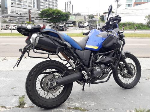 xt 660 z  teneré 2017 azul c\ 17.200 km equipada