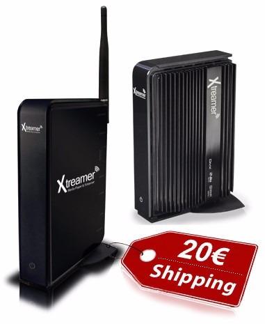 xtreamer sidewinder wifi disco duro 500gb fullhd 1080p  h264