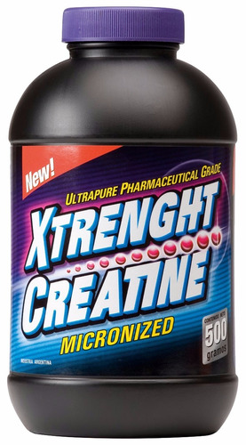 xtrenght creatine 500 grs. creatina monohidrato micronizada