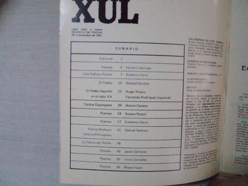 xul n°3 / año 1981