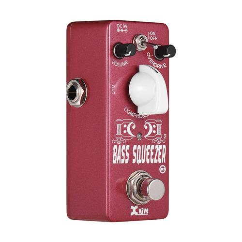 xvive b1 bass squeezer pedal de compressor para baixo