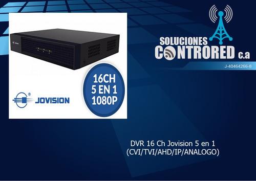 xvr dvr 16 canales jovision 5 en 1 (cvi/tvi/ahd/ip/analogo)