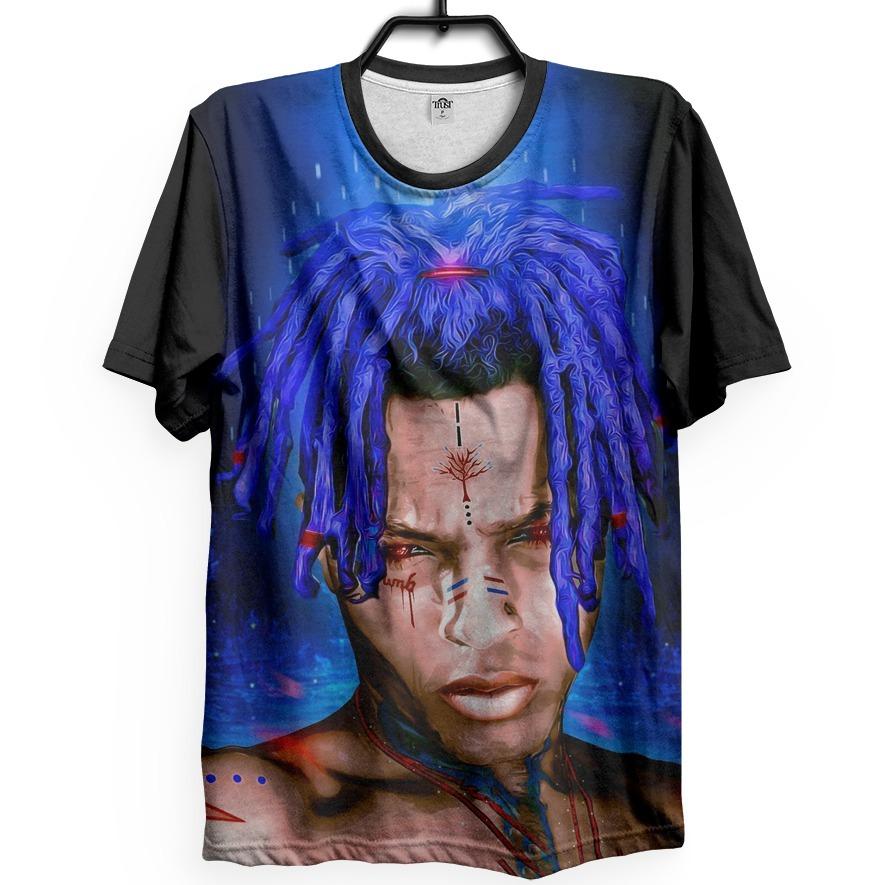 Xxxtentacion Rapper Camiseta 17 Jahseh Soundcloud Hip Hop