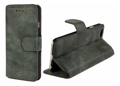 xyun iphone 6 / 6s caja de carpeta sc piel polaco embotado d