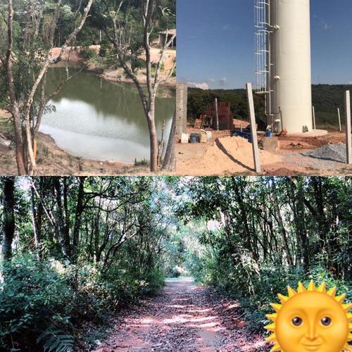 y ambientes p/chácaras de 1000m² c/água e bosque p/lazer