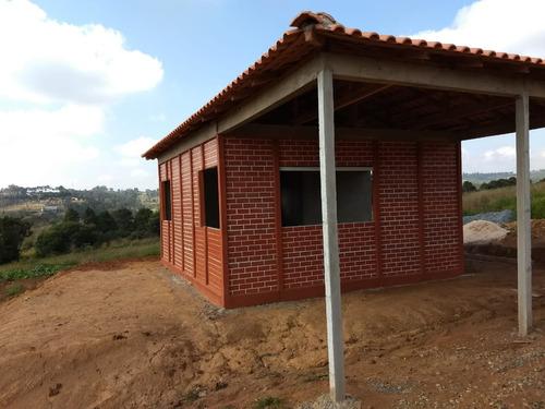 y área 500 ou 1000m² com fácil acesso pronto para construir