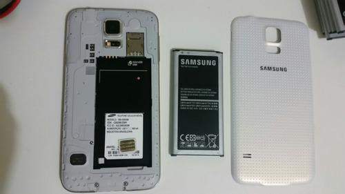 .y celular samsung g900m trincado mas funciona perfeitamente